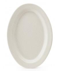 """GET Enterprises OP-215-IR Santa Fe Ironstone Oval Platter, 11-1/2""""x 8""""(2 Dozen)"""