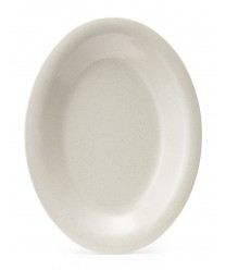 """GET Enterprises OP-220-IR Santa Fe Ironstone Oval Platter, 12""""x 9""""(2 Dozen)"""