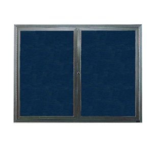Aarco ADC2418I Indoor Illuminated Enclosed Directory Board with Aluminum Frame 24