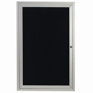 Aarco ADC3624I Indoor Illuminated Enclosed Directory Board with Aluminum Frame36