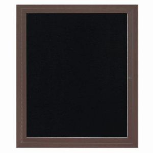 Aarco ADC3630BA Indoor Enclosed Directory Board with Bronze Anodized Aluminum Frame36