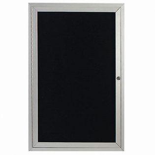 """Aarco OADC4836 1 Door Outdoor Directory Board with Aluminum Frame 48"""" x 36"""""""
