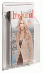 """Aarco LRC100 Clear-Vu Magazine and Literature Display - 1 Pocket 14-1/4"""" x 11"""""""