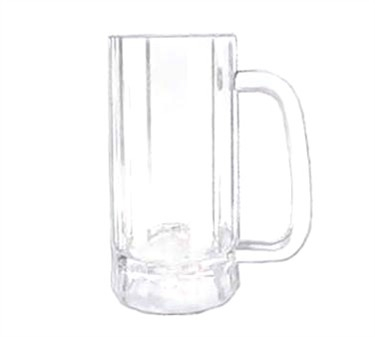 GET Enterprises 00086-PC-CL Polycarbonate Plastic Beer Mug 16 oz. (2 Dozen)