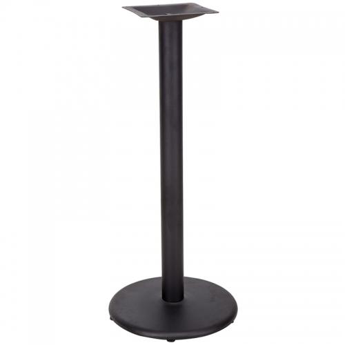 Flash Furniture 18'' Round Restaurant Table Base with 3'' Bar Height Column [XU-TR18-BAR-GG]