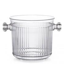 GET Enterprises HI-2015-CL Clear Polycarbonate Ice Bucket 2.5 Qt. (6 Pieces)