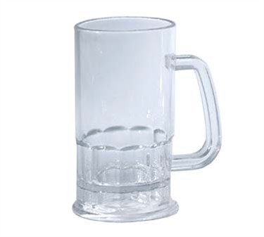 GET Enterprises 00085-PC-CL Polycarbonate Plastic Beer Mug 20 oz.(2 Dozen)