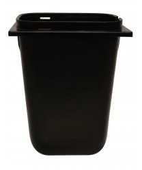 Grindmaster-Cecilware A9207 Black Syrup Jar with Ladle Slot 3.5 Qt.