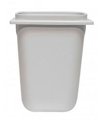 Grindmaster-Cecilware A2002 White Polypropylene Syrup Jar 3.5 Qt.