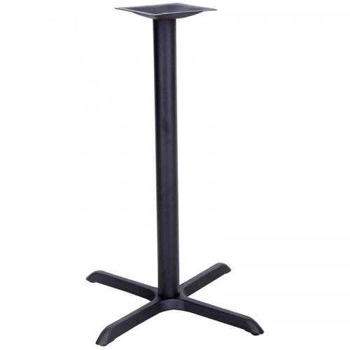 Flash Furniture 22'' x 30'' Restaurant Table X-Base with 3'' Bar Height Column [XU-T2230-BAR-GG]