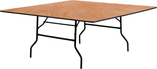 Flash Furniture 72'' Square Wood Folding Banquet Table [YT-WFFT72-SQ-GG]