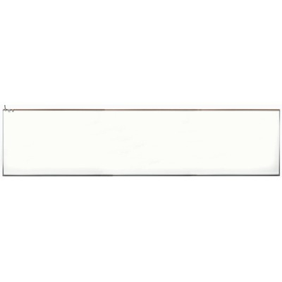 Aarco 120A-412MV2 Porcelain Enamel on Steel White Markerboard  4' x 12'