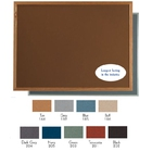 """Aarco DW4896185 VIC Cork Bulletin Board with Aluminum Frame, Blue 48"""" x 96"""""""