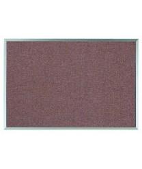 """Aarco DF2436003 Designer Fabric Rose Quartz Bulletin Board with Aluminum Frame, 24"""" x 36"""""""