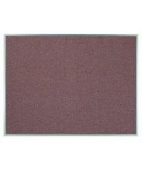 """Aarco DF3648003 Designer Fabric Rose Quartz Bulletin Board with Aluminum Frame 36"""" x 48"""""""