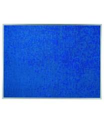 "Aarco DF3648014 Designer Fabric Wedgewood Bulletin Board with Aluminum Frame 36"" x 48"""