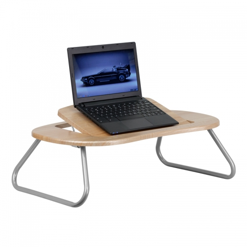 Flash Furniture  Angle Adjustable Laptop Computer Table with Dark Natural Top [NAN-JN-2779-GG]
