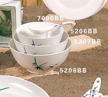 Thunder Group 5206BB Blue Bamboo Noodle Bowl 23 oz. (1 Dozen)