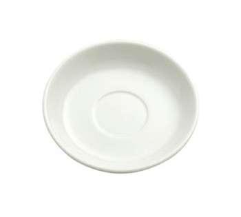 """Oneida R4530000505 Atlantic Cream White A.D. Saucer 4-7/8"""""""