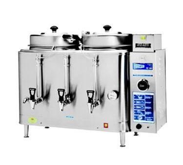 Grindmaster-Cecilware FE100N 3 Phase Twin Automatic Coffee Urn, 3 Gallon 120/208 V / 3