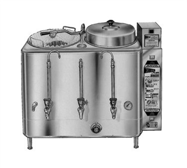Grindmaster-Cecilware FE200 Twin Automatic Coffee Urn, 6 Gallon 120/208/1
