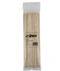 "Winco WSK-10 Bamboo Skewers, 10"", (100/Bag)"