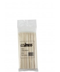 "Winco WSK-06 Bamboo Skewers, 6"", (100/Bag)"