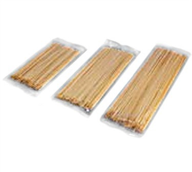 "Winco WSK-08 Bamboo Skewers, 8"", (100/Bag)"