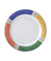 "GET Enterprises WP-9-BA Diamond Barcelona Wide Rim Plate, 9""(2 Dozen)"