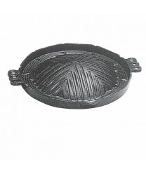 Thunder Group IRTP001 Cast Iron BBQ Plate, 11-1/2""