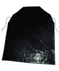 Winco BA-LA Black Latex Bib Apron 37