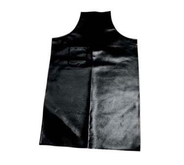Winco BA-HN Heavy Naugahyde Black Bib Apron, 41-1/4