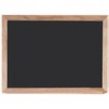Aarco OC2436NT Display Style Black Chalkboard  24