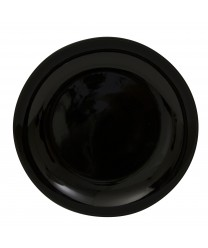 10 Strawberry Street BCP0024 Black Coupe Charger Plate 12'' - Case of 12
