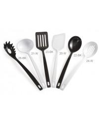 "GET Enterprises 25-BK Black Heavy Duty Spaghetti Fork, 14 1/2""(2 Dozen)"