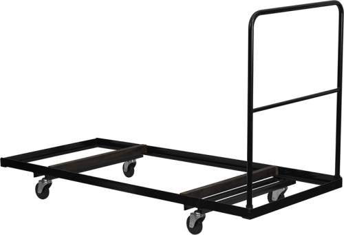 Flash Furniture  Black Steel Folding Table Dolly for 30x72 Rectangular Folding Tables [NG-DY3072-GG]