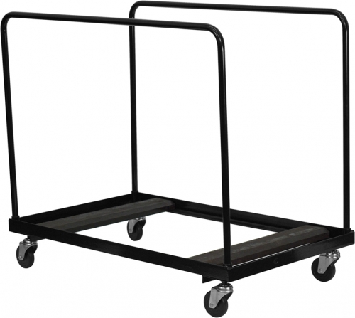 Flash Furniture  Black Steel Folding Table Dolly for Round Folding Tables [NG-DY60-GG]