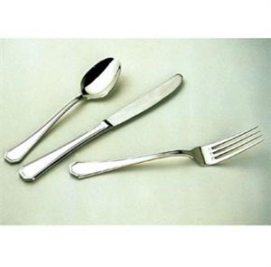 Winco 0035-04 Victoria Bouillon Spoon, Extra Heavy, 18/8 Stainless Steel (1 Dozen)
