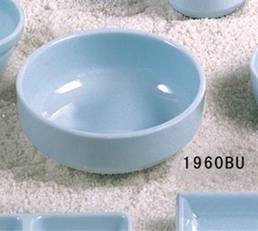 "Thunder Group 1960 Blue Jade Bowl 18 oz.5-3/4"" (1 Dozen)"