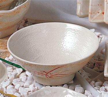 Thunder Group 5770 Gold Orchid Soup Bowl 24 oz. (1 Dozen)