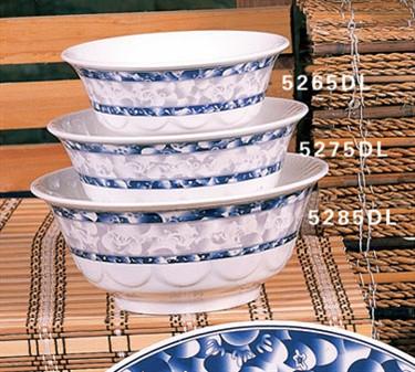 Thunder Group 5275DL Blue Dragon Scalloped Bowl 34 oz. (1 Dozen)