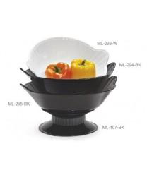 GET Enterprises ML-95-BK Siciliano Black Bowl, 4 Qt. (6 Pieces)