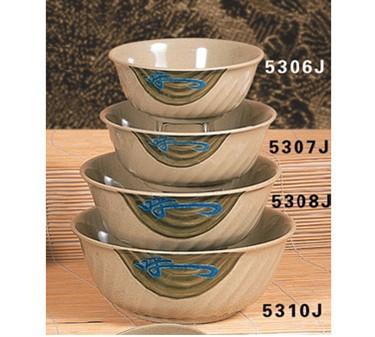 Thunder Group 5308J Wei Swirl Bowl 48 oz.  (1 Dozen)