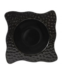 GET Enterprises B-1616-BK Las Brisas Black Bowl, 64 oz. (4 Pieces)