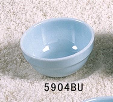 Thunder Group 5904 Blue Jade Bowl 7 oz. (1 Dozen)