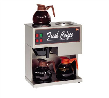 Grindmaster-Cecilware BT3 Brew Time Pour-Over Coffee Brewer with 3 Warmers
