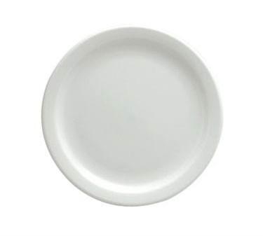 "Oneida R4110000143 Rego Bright White Collection Narrow Rim Plate 9-1/2"""