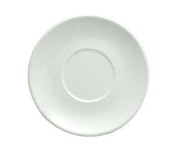 "Oneida R4130000504 Rego Bright White Collection Big Saucer 6-1/4"""