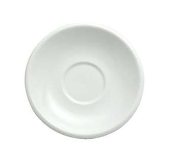 Oneida R4130000502 Rego Bright White Collection Briarcliff Saucer 6""