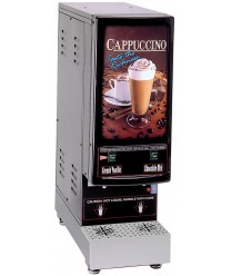 Grindmaster-Cecilware 2K-GB-LD Cappuccino Dispenser with 2 Hoppers - 120V